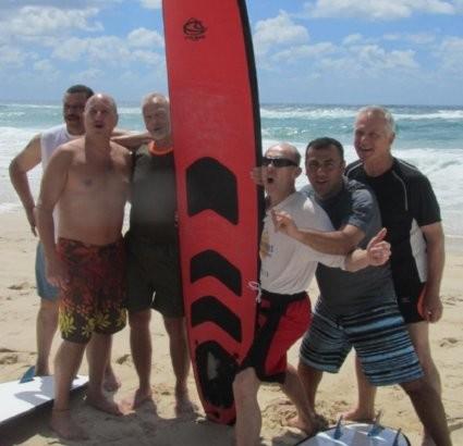 First Australian Surfari to South Coast Set by Gay Surfers Net